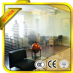 High Quality Office Wall Tempered Glass 10mm pictures & photos
