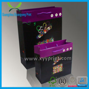 Custom High Quality Gift Mini Paper Bag Wholesale pictures & photos