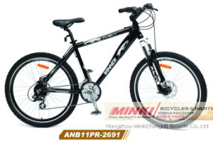 Alloy Suspension Mountain Bicycle 24 Speed (ANB11PR-2691) pictures & photos
