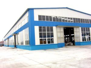 With Sliding Door & PVC Window & Corrugated Sheet Steel Warehouse pictures & photos