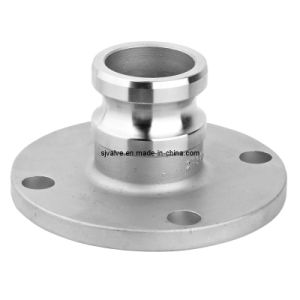 Stainless Steel Flange Cam Lock Coupling pictures & photos