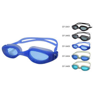 Silicone Swimming Goggle (CF-3400) pictures & photos