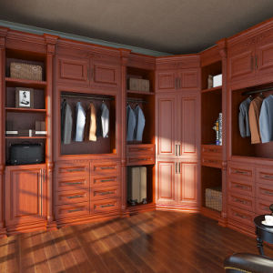 Oppein Eco-Wood Cherry Walk in Closet (YG15-PP02) pictures & photos