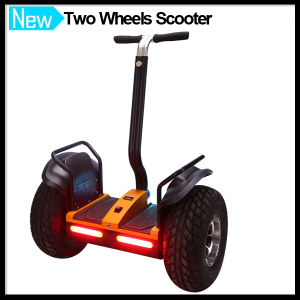 Two Wheels Electric Scooter with Free Headlights pictures & photos