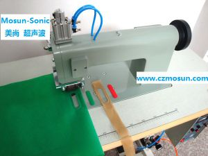 Ultrasonic Sewing Machine for Non-Woven Shopping Bags pictures & photos