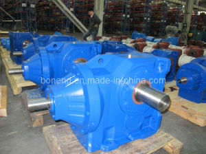 K Series Helical-Spiral Bevel Gearbox with Ae Input Shaft pictures & photos