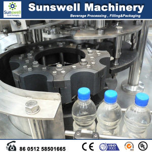 Washer Filler Capper in One Unit Water Drink Filling Machine pictures & photos