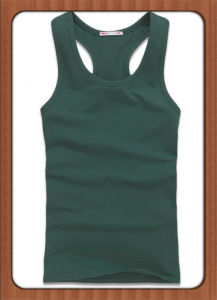 Men′s Cotton Slim Fit Tank Top for Sport pictures & photos