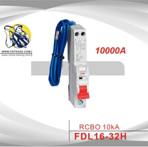 Residual Current Circuit Breaker with Overload Protection (FDL16-32H)
