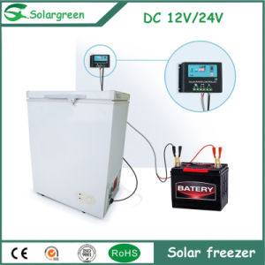 100% off Grid Solar Powered 12V 24V DC Chest Freezer pictures & photos
