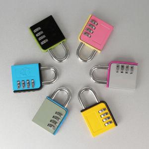 Chrom Zinc Alloy Suitcase Padlock Mini Details Luggage Padlock pictures & photos