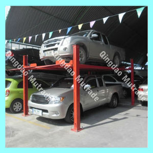 Mutrade Fpp-2 Four Post Garage Car Parking Hoists for 2 Cars Parking pictures & photos