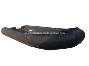 Aqualand 18FT Semi-Rigid Inflatable Fishing Boat/Military Rescue Motor Boat/Sports Rubber Boat (530) pictures & photos