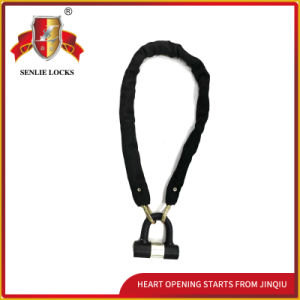 High Quality Anti-Theft Bicycle Folding Security Chain Lock pictures & photos