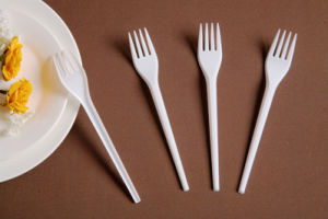 Colorful 100% Virgin Plastic Fork Plastic Tableware pictures & photos