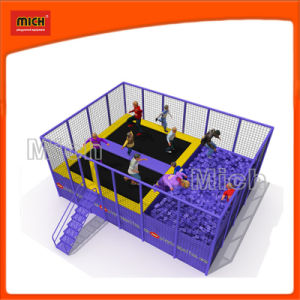 China Mini Trampoline Center With Foam Pit China