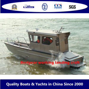 Aluminum Alloy Working and Fishing Landing Craft and Boat/ Barge pictures & photos