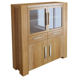 Solid Oak Furniture-Big Cupboard with 100% Oak