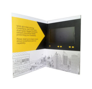7.0inch LCD Video Brochure pictures & photos