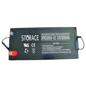 12V Battery Srd200-12 Solar/Wind Power System Battery 12V 200ah pictures & photos