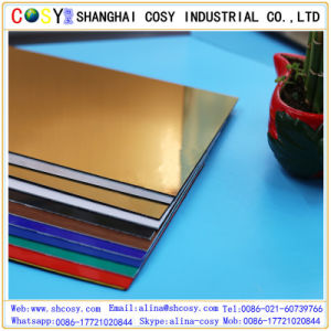 Hot Sell New Material ABS ABS Double Color Plastic Sheet pictures & photos