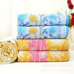 Cotton Jacquard Towel Bathtowel Towellling Coverlet (xinya009)