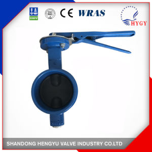 Grooved End Type Butterfly Valve with Mellable Iron Handle pictures & photos