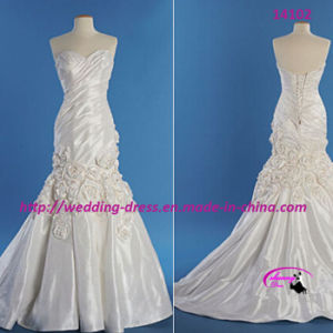 Pretty Noble Mermaid Wedding Bridal Dress with Chapel Train pictures & photos