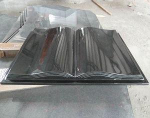 Black Book Shape Monument Stone