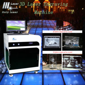 Best Price of 3D Crystal Laser Engraving Machine for Sale, 3D Crystal Laser Engraving Machine with Large Applications pictures & photos