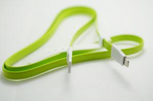 90cm Magnet Flat USB2.0 Data Cable for iPhone6, IP6 Plus, iPad, iPad Mini, etc. pictures & photos