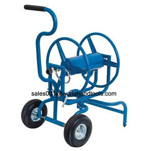 Blue Two Wheels Water Garden Hose Reel pictures & photos