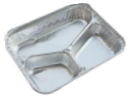 Three Compartment Aluminum Foil Container pictures & photos