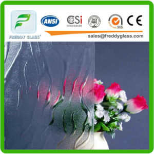 Colored Tinted Clear Patterned Glass Wired Decorative pictures & photos
