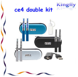 Top Quality Lowest Price Wholesale CE4 Double Kit of Electronic Cigarette
