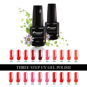 Easy Soak off Three Steps UV Gel Polish 15ml UV Gel Polish 184 Kinds Colours Nail Art pictures & photos