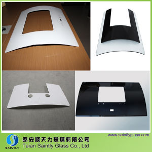 Hot Sale Tempered Bend Glass for Range Hood pictures & photos