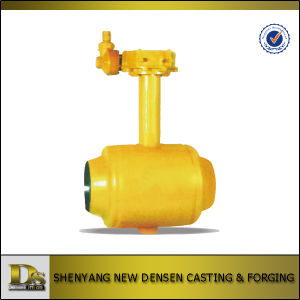 Densen Offered Buried Welded Ball Valve pictures & photos