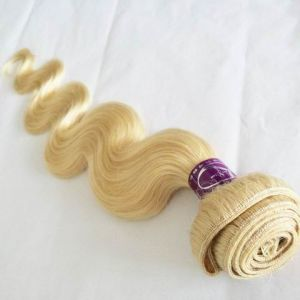 Top Real Remy Brazilian Human Hair Weaving #613 Body Wave