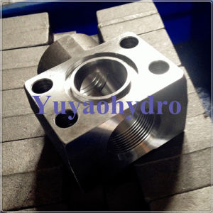 SAE Flange Block with Welding Pipe in Flange End pictures & photos