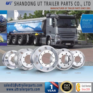 19.5X7.5 Polished Aluminum Alloy Wheel Rim for Truck and Trailer pictures & photos