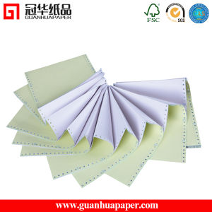 SGS Continuous Computer Forms Carbonless Paper pictures & photos