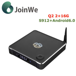 2+16g Android 6.0 S912 Smart TV Box Q2 pictures & photos