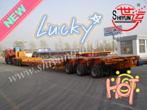 3 Axis with Connection Platform with 3 Axis Hydraulic Modular Heavy Duty Semi Trailer