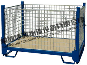 Collapsible Storage Metal Wire Mesh Containers (SWK8004) pictures & photos