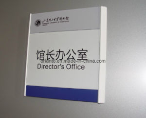Aluminium Siver Wall Mounted Office Sign pictures & photos