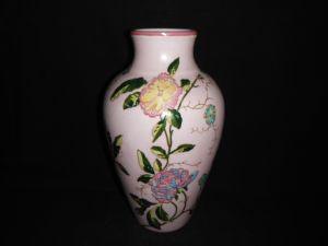 Flower Vase, Hand Painting Ornamental Porcelain Ceramic (FM0928)