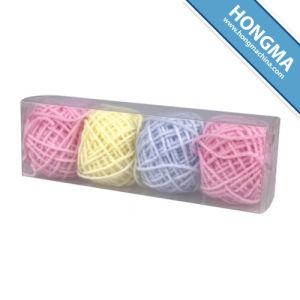 Knitting Acrylic Yarn 12g Per Ball 4balls Per Plastic Box (1009-B)