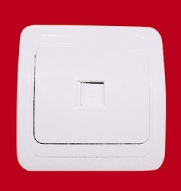 1 Gang Wall Internet Socket (YW8007N) pictures & photos