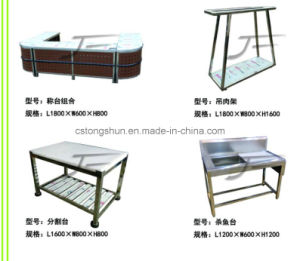 Supermarket Stainless Steel Work Bench Table pictures & photos